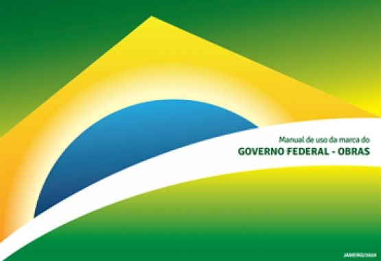 Manual de uso de marca do Governo Federal - Obras (2016)