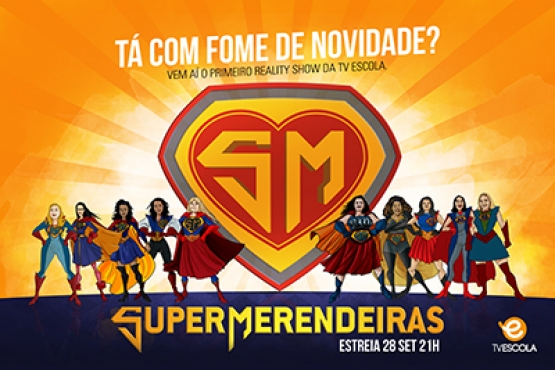 TV Escola publica teaser do reality show Super Merendeiras