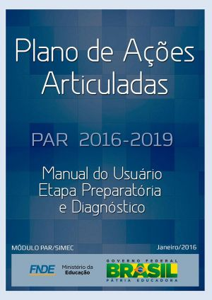 Manual do PAR (Ciclo 2016-2019)